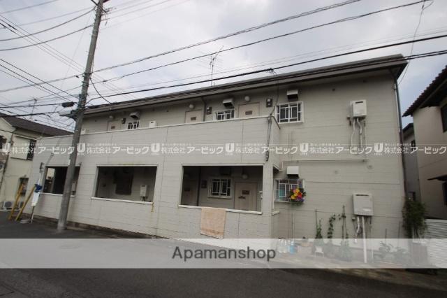 千葉県市川市、本八幡駅徒歩15分の築29年 2階建の賃貸アパート