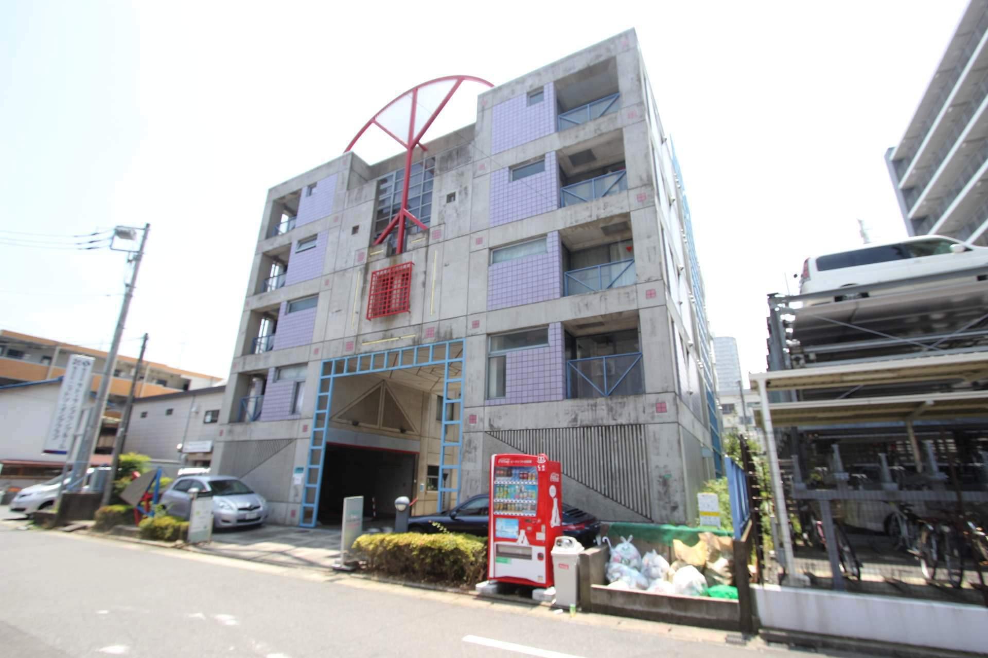 千葉県船橋市、船橋駅徒歩7分の築27年 5階建の賃貸マンション
