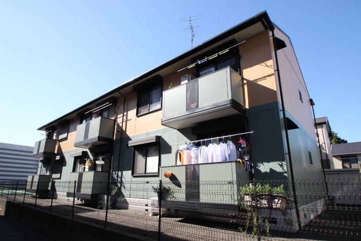 千葉県船橋市、下総中山駅徒歩7分の築21年 2階建の賃貸アパート
