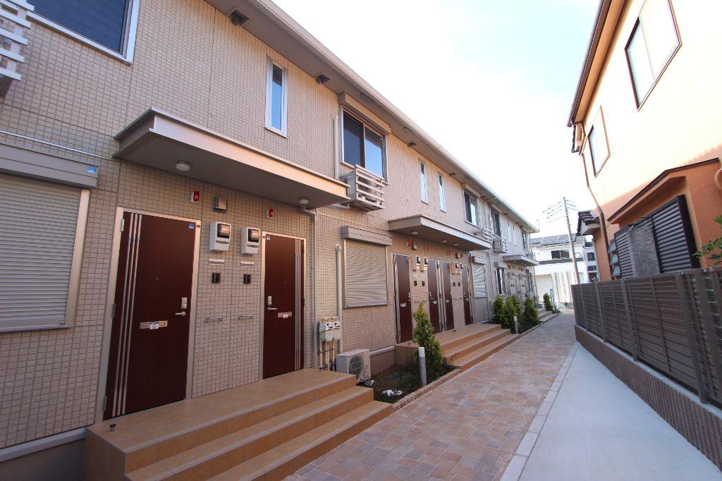 千葉県市川市、市川駅徒歩22分の築1年 2階建の賃貸アパート