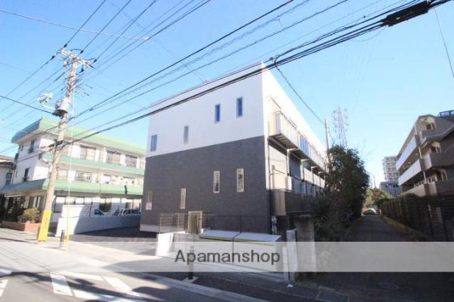 千葉県船橋市、下総中山駅徒歩7分の新築 2階建の賃貸アパート