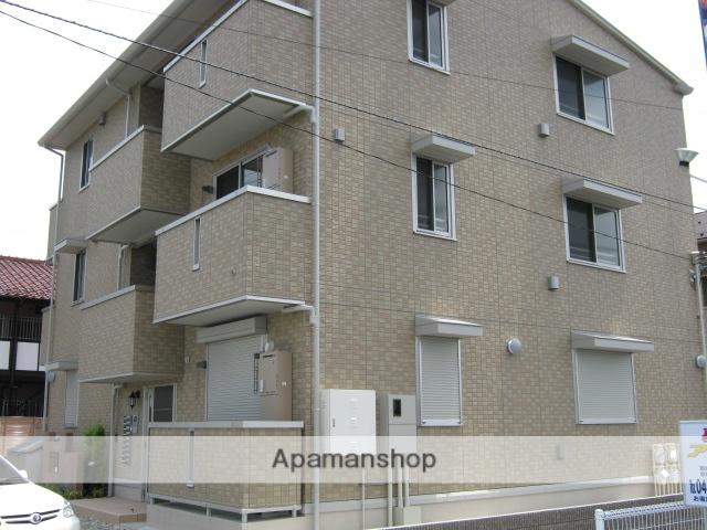 千葉県市川市、本八幡駅徒歩19分の築7年 3階建の賃貸アパート