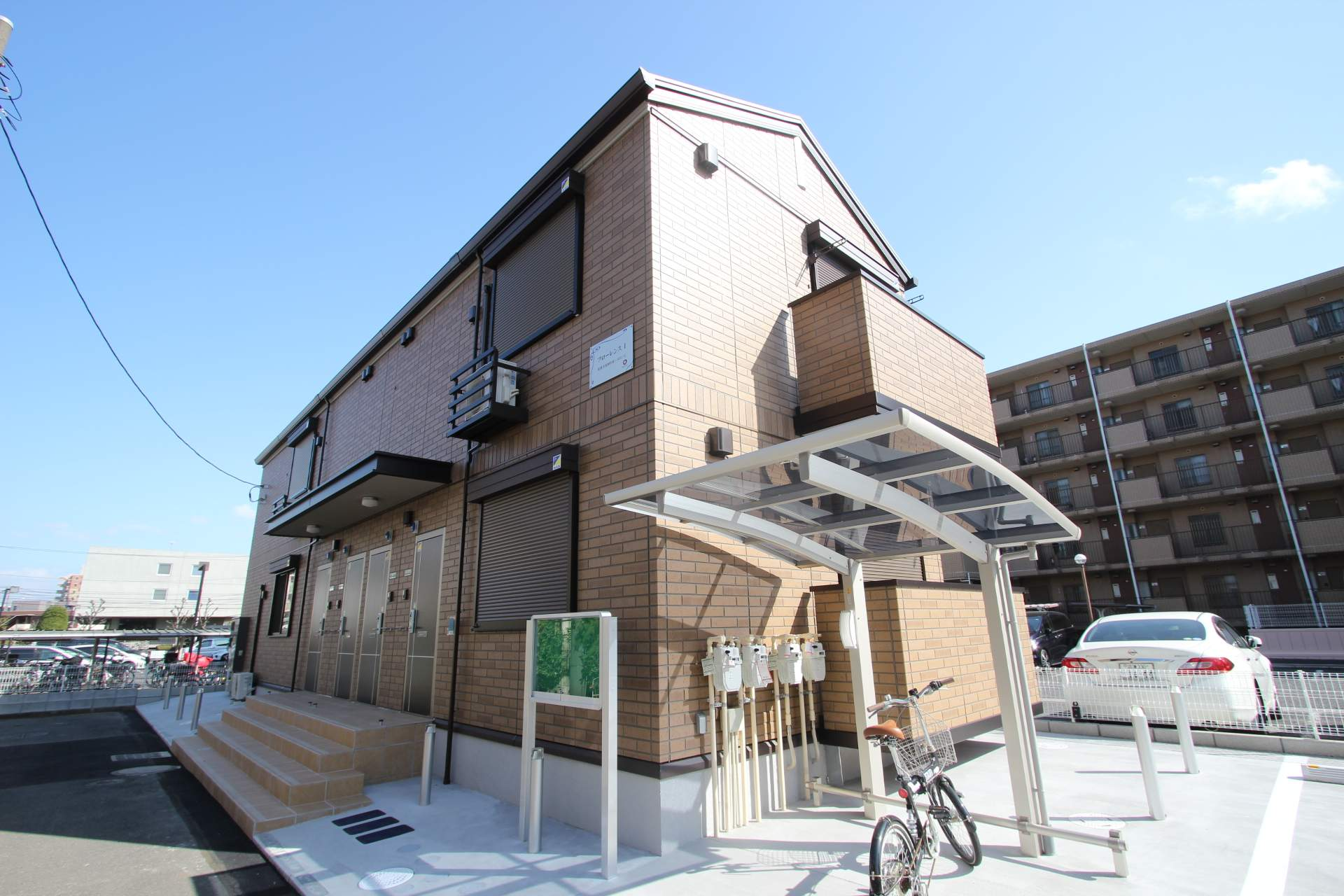 千葉県船橋市、西船橋駅徒歩12分の新築 2階建の賃貸アパート