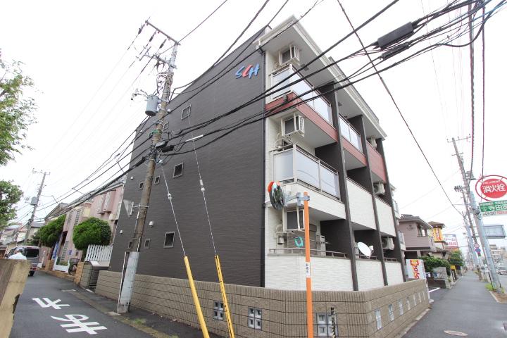千葉県船橋市、東船橋駅徒歩13分の新築 3階建の賃貸アパート