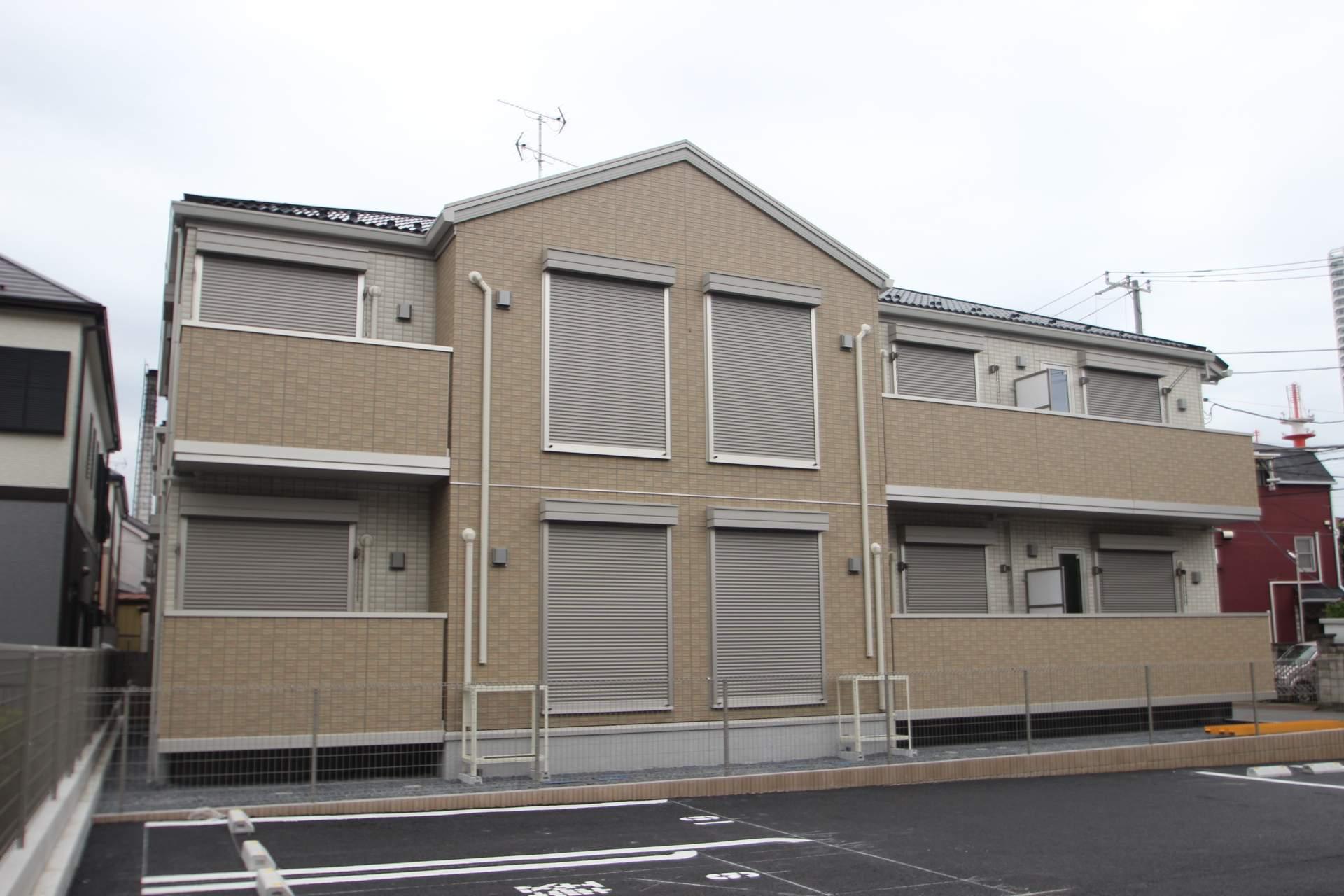 千葉県船橋市、海神駅徒歩18分の新築 2階建の賃貸アパート