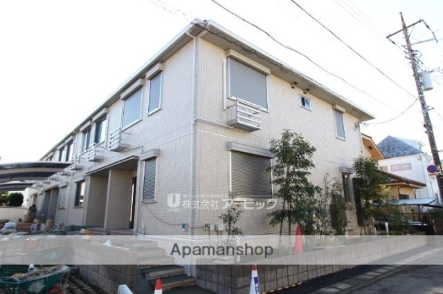 千葉県市川市、本八幡駅徒歩22分の新築 2階建の賃貸アパート