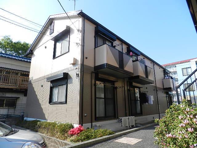 千葉県船橋市、下総中山駅徒歩7分の築19年 2階建の賃貸アパート