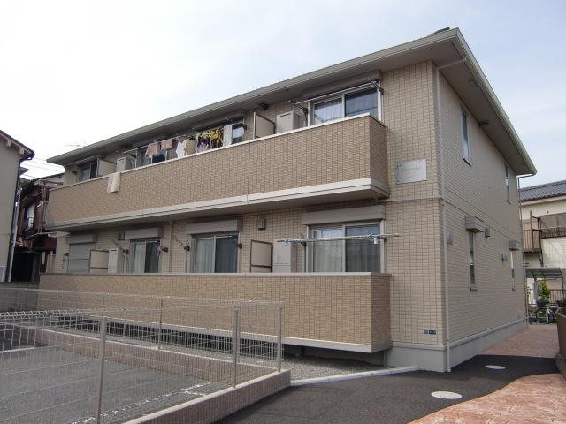 千葉県市川市、本八幡駅徒歩19分の築6年 2階建の賃貸アパート
