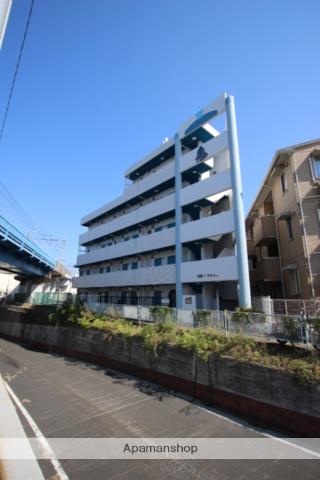 千葉県市川市、下総中山駅徒歩15分の築30年 5階建の賃貸マンション