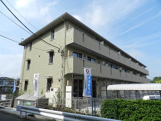 千葉県市川市、市川大野駅徒歩23分の築5年 3階建の賃貸アパート