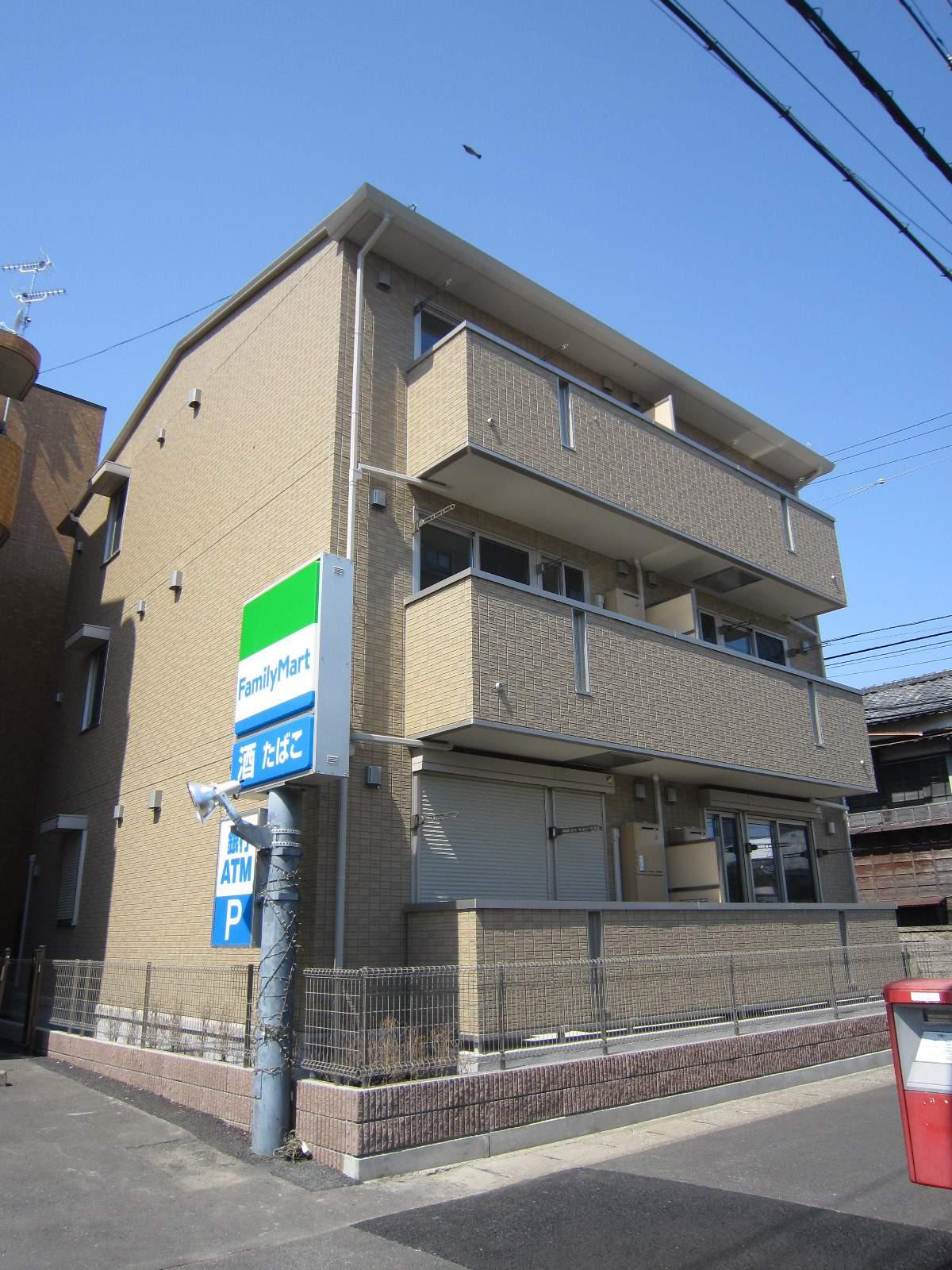 千葉県船橋市、船橋駅徒歩14分の築6年 3階建の賃貸アパート