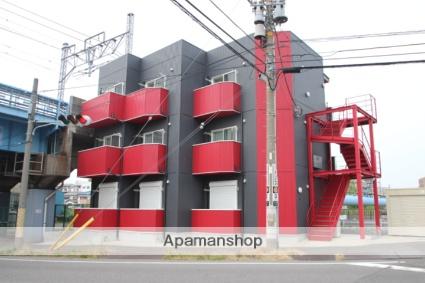 千葉県市川市、下総中山駅徒歩13分の築4年 3階建の賃貸アパート