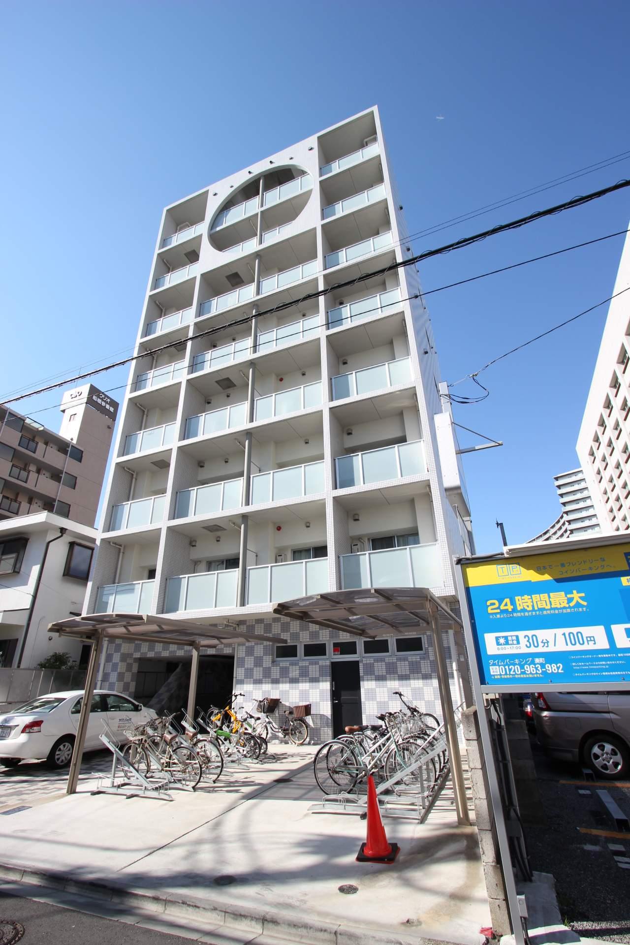 千葉県船橋市、船橋駅徒歩14分の築4年 8階建の賃貸マンション