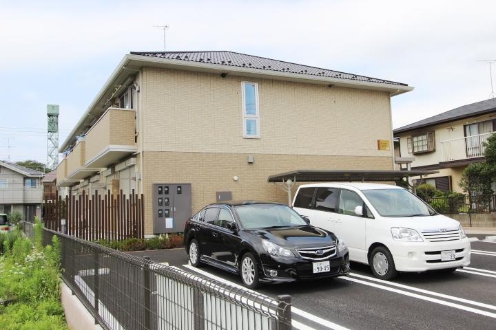 千葉県船橋市、船橋法典駅徒歩17分の築3年 2階建の賃貸アパート