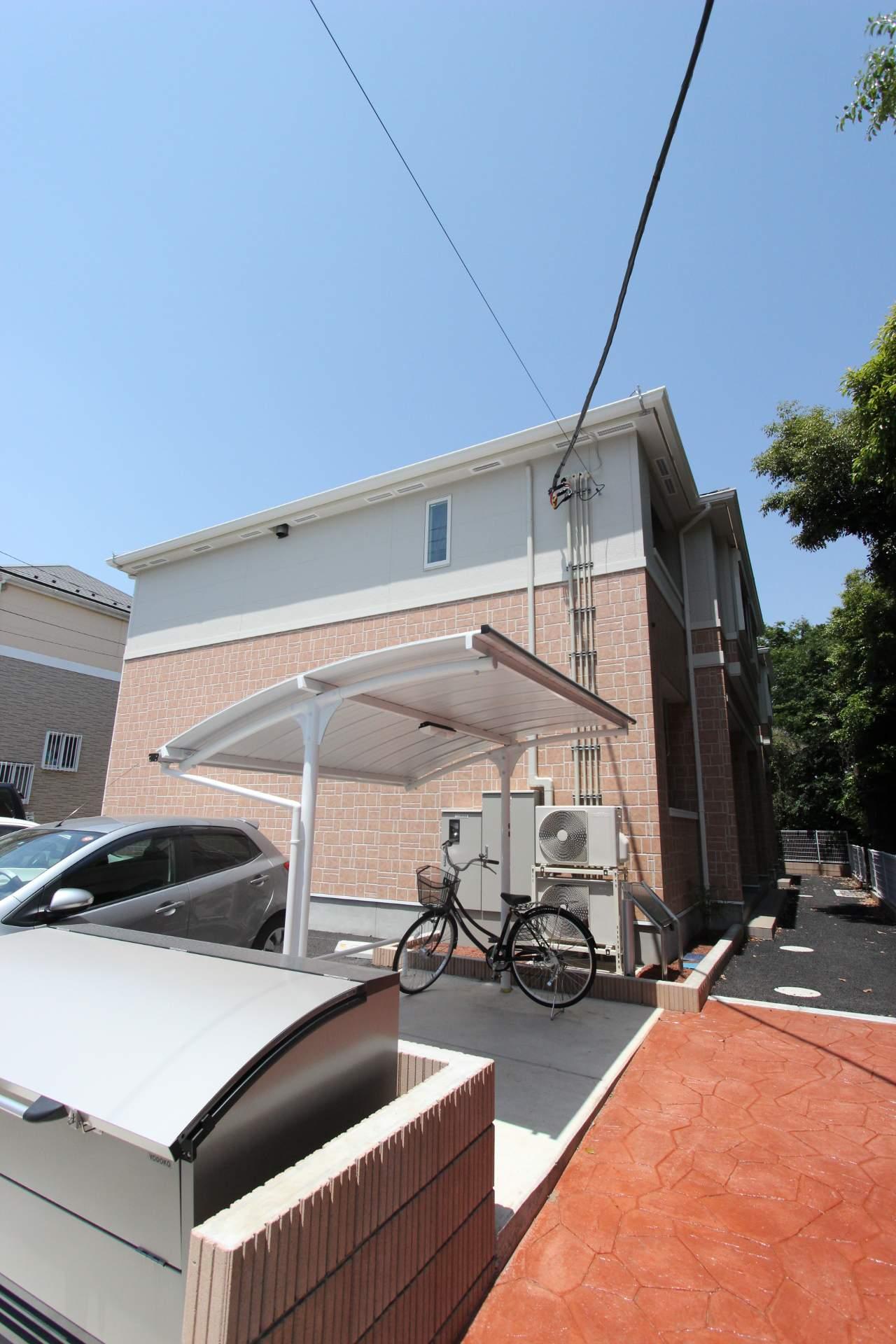 千葉県船橋市、塚田駅徒歩4分の築3年 2階建の賃貸アパート