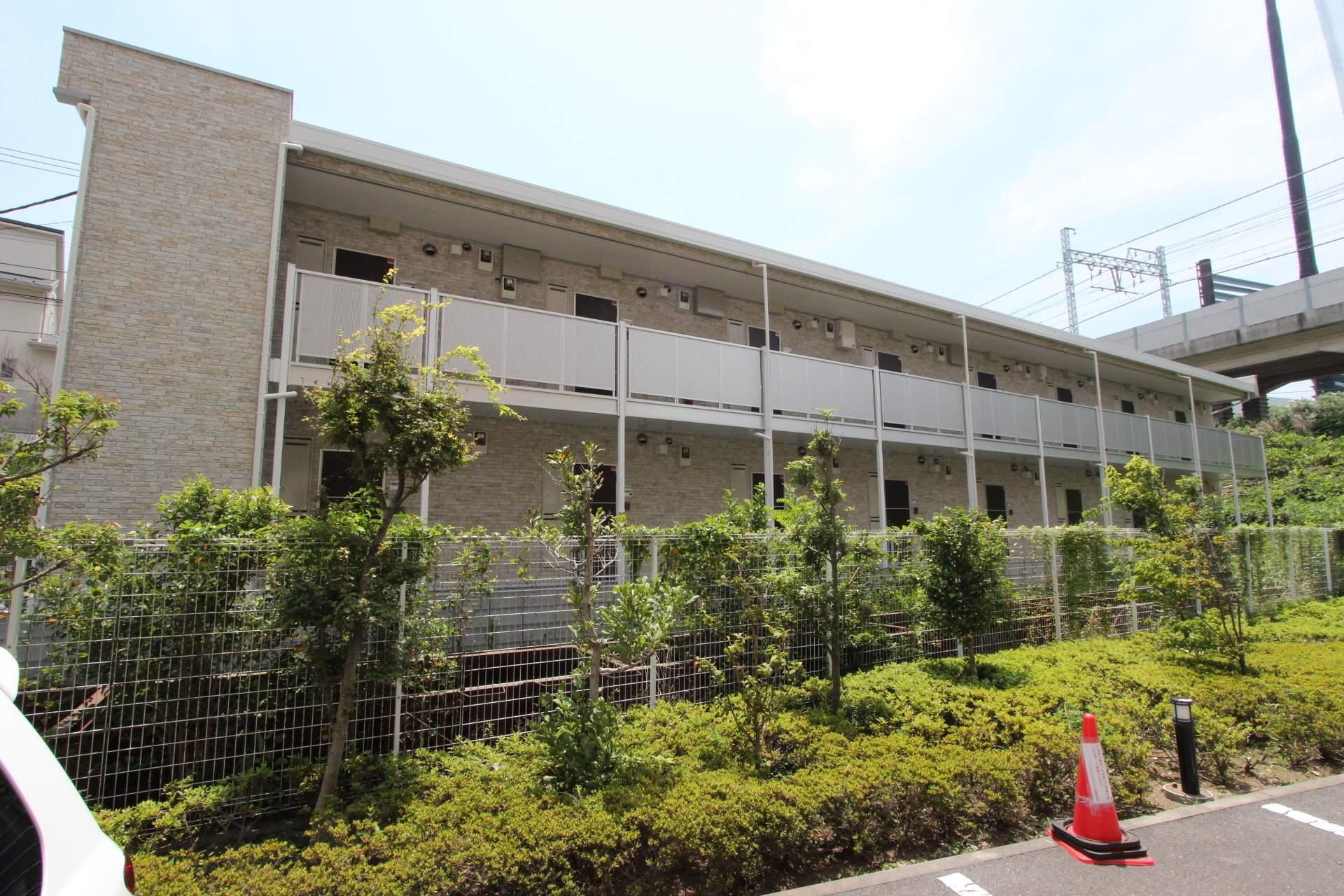千葉県船橋市、塚田駅徒歩13分の築3年 2階建の賃貸アパート