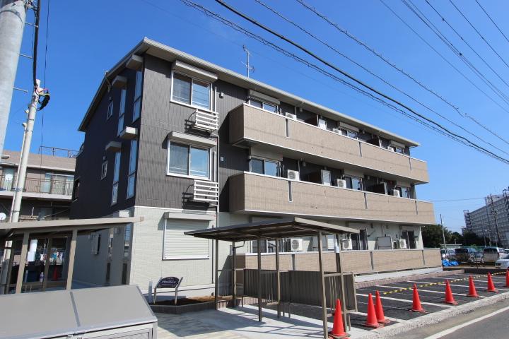 千葉県船橋市、船橋法典駅徒歩22分の築3年 3階建の賃貸アパート