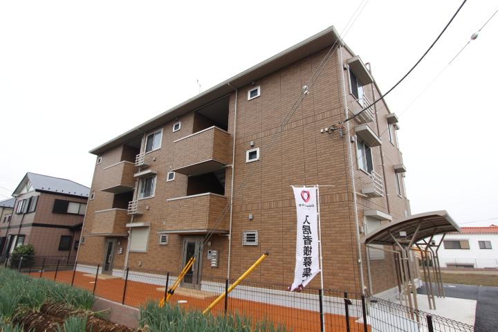 千葉県船橋市、塚田駅徒歩17分の築3年 3階建の賃貸アパート