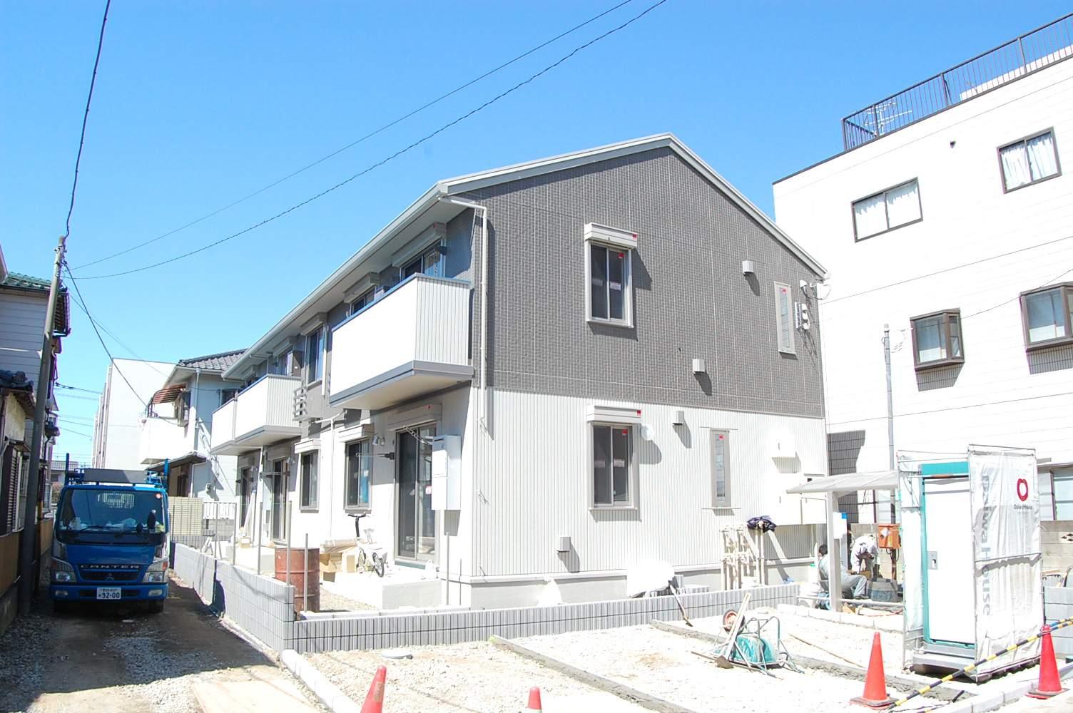 千葉県市川市、原木中山駅徒歩7分の築3年 2階建の賃貸アパート