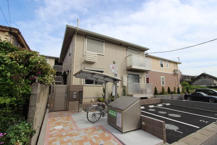 千葉県市川市、本八幡駅徒歩30分の築2年 2階建の賃貸アパート
