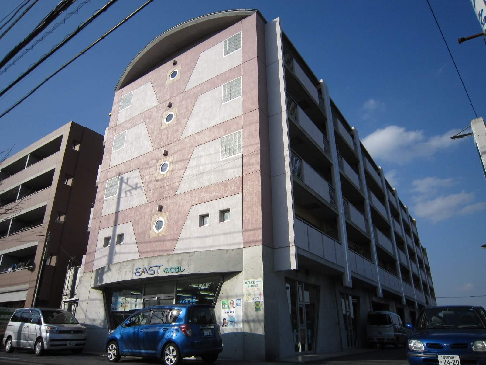 千葉県船橋市、船橋駅徒歩20分の築18年 5階建の賃貸マンション