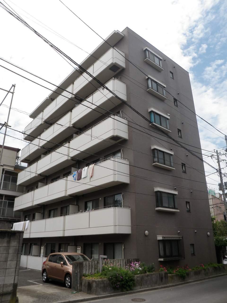 千葉県船橋市、船橋駅徒歩13分の築26年 6階建の賃貸マンション