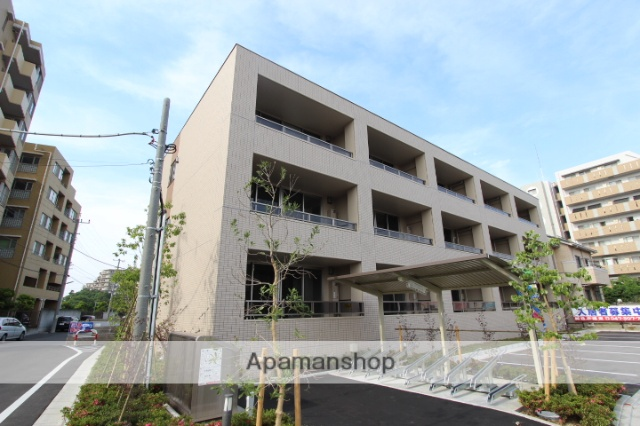 千葉県船橋市、下総中山駅徒歩14分の築2年 3階建の賃貸マンション
