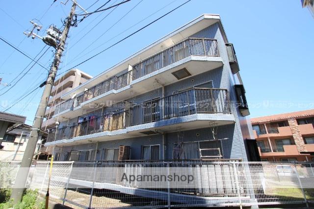 千葉県船橋市、西船橋駅徒歩9分の築26年 3階建の賃貸マンション