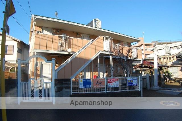 千葉県市川市、西船橋駅徒歩6分の築24年 2階建の賃貸アパート