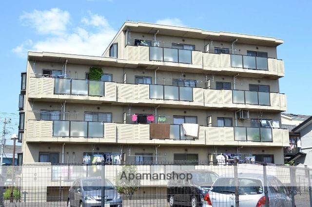 千葉県市川市、原木中山駅徒歩7分の築24年 4階建の賃貸マンション