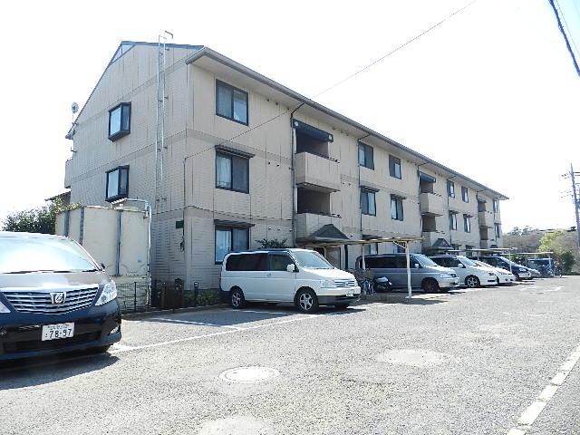 千葉県船橋市、船橋法典駅徒歩18分の築21年 3階建の賃貸マンション