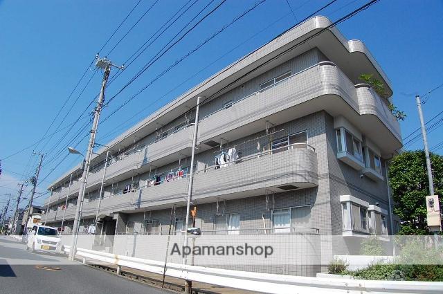 千葉県市川市、下総中山駅徒歩24分の築26年 3階建の賃貸マンション