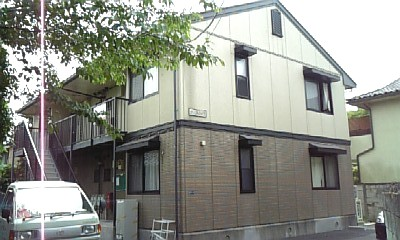 千葉県市川市、本八幡駅徒歩10分の築21年 2階建の賃貸アパート