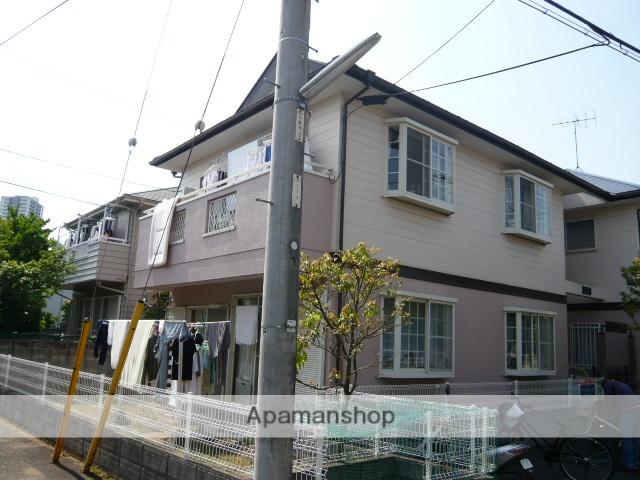 千葉県市川市、本八幡駅徒歩10分の築22年 2階建の賃貸アパート
