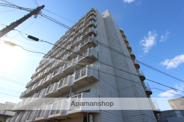 千葉県市川市、下総中山駅徒歩10分の築27年 10階建の賃貸マンション