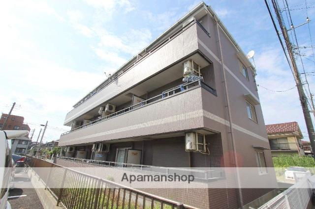 千葉県船橋市、西船橋駅徒歩10分の築16年 3階建の賃貸マンション