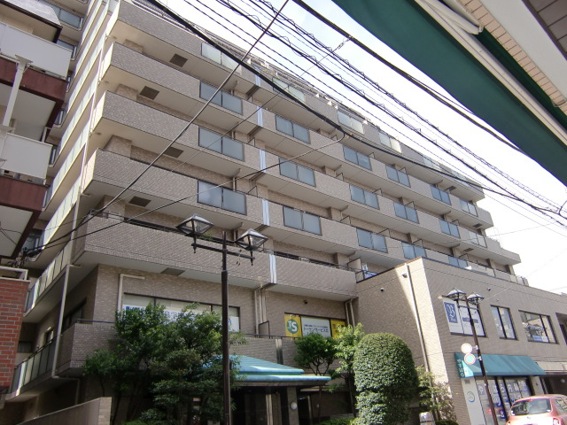 千葉県市川市、市川駅徒歩2分の築27年 11階建の賃貸マンション