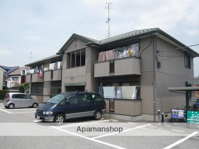 千葉県市川市、北国分駅徒歩4分の築16年 2階建の賃貸アパート