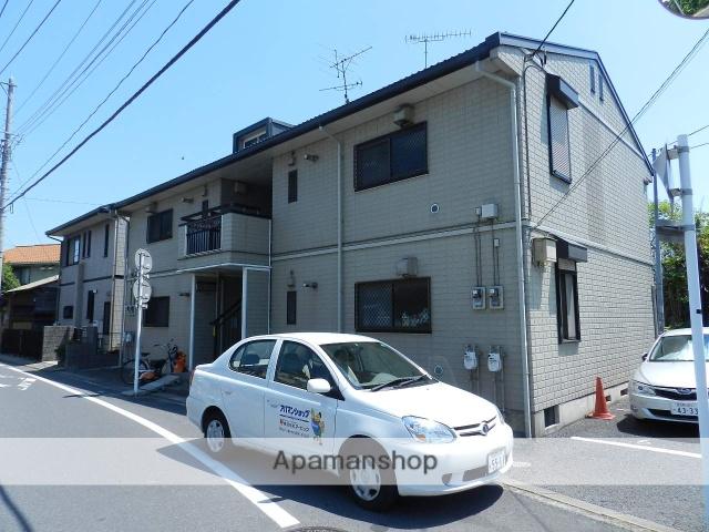千葉県市川市、本八幡駅徒歩18分の築20年 2階建の賃貸アパート