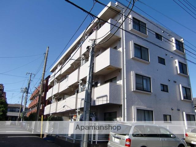 千葉県市川市、市川駅徒歩14分の築26年 4階建の賃貸マンション