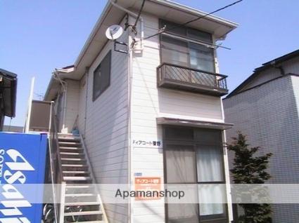 千葉県市川市、菅野駅徒歩3分の築25年 2階建の賃貸アパート