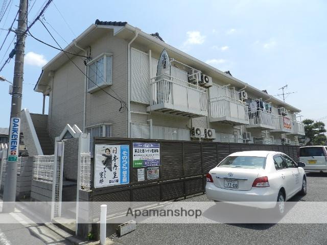千葉県市川市、本八幡駅徒歩14分の築26年 2階建の賃貸アパート