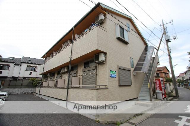 千葉県市川市、下総中山駅徒歩6分の築12年 2階建の賃貸アパート