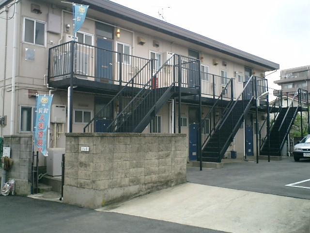 千葉県船橋市、船橋駅徒歩17分の築38年 2階建の賃貸アパート