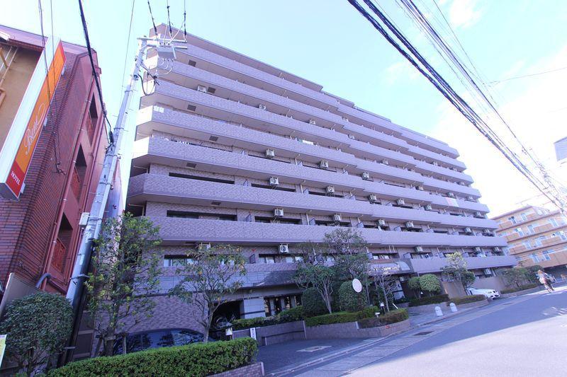 千葉県市川市、本八幡駅徒歩6分の築20年 9階建の賃貸マンション