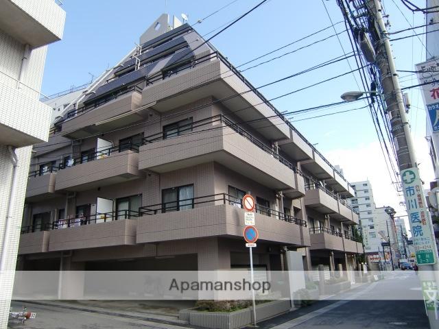 千葉県市川市、市川駅徒歩2分の築27年 6階建の賃貸マンション