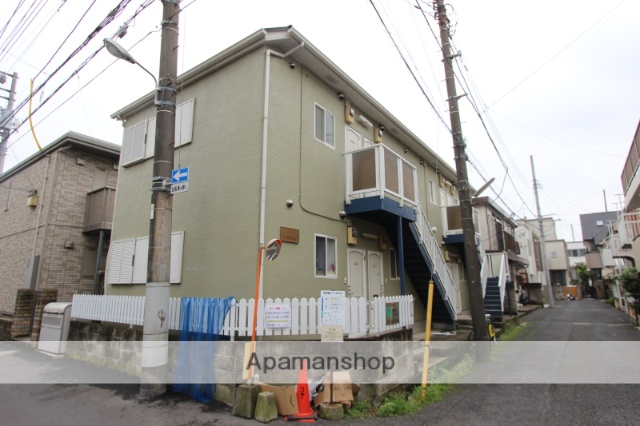 千葉県市川市、市川駅徒歩6分の築25年 2階建の賃貸アパート