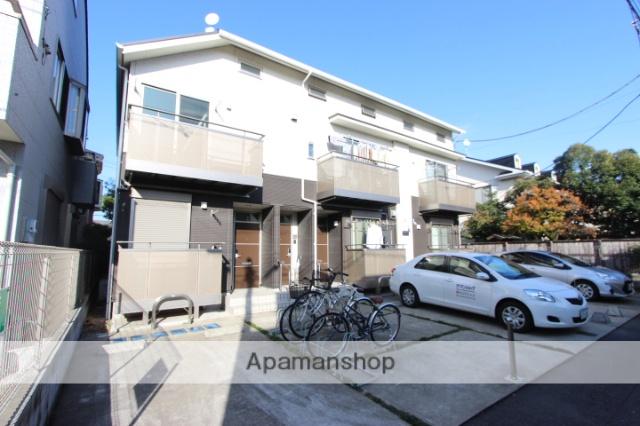 千葉県市川市、本八幡駅徒歩7分の築5年 2階建の賃貸アパート