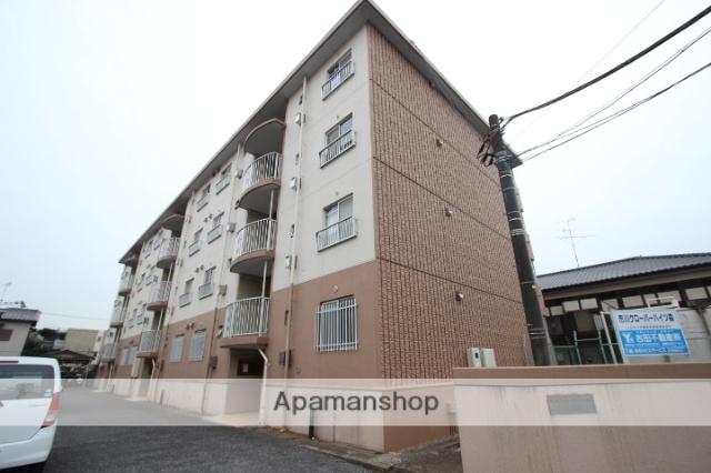 千葉県市川市、下総中山駅徒歩22分の築33年 4階建の賃貸マンション