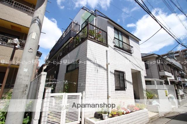 千葉県市川市、市川駅徒歩5分の築30年 3階建の賃貸マンション